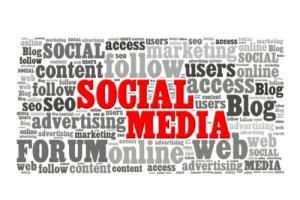 social media no logo