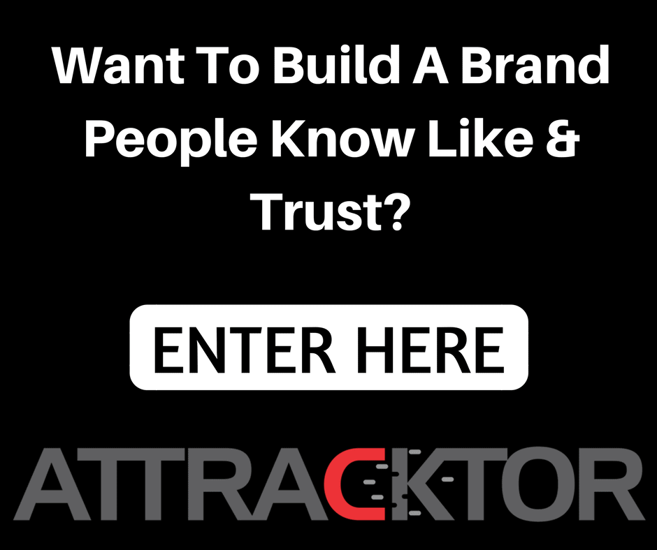 Want To Create A Brand People Know Like & Trust-