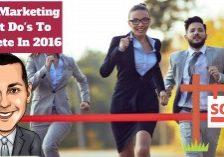 2016 Marketing To Do's (1)